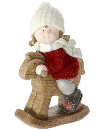 decoratiune-ceramica-ornament-craciun-fetita-calut